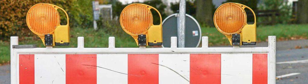 Bahnübergang Pasewalk eine Woche lang gesperrt