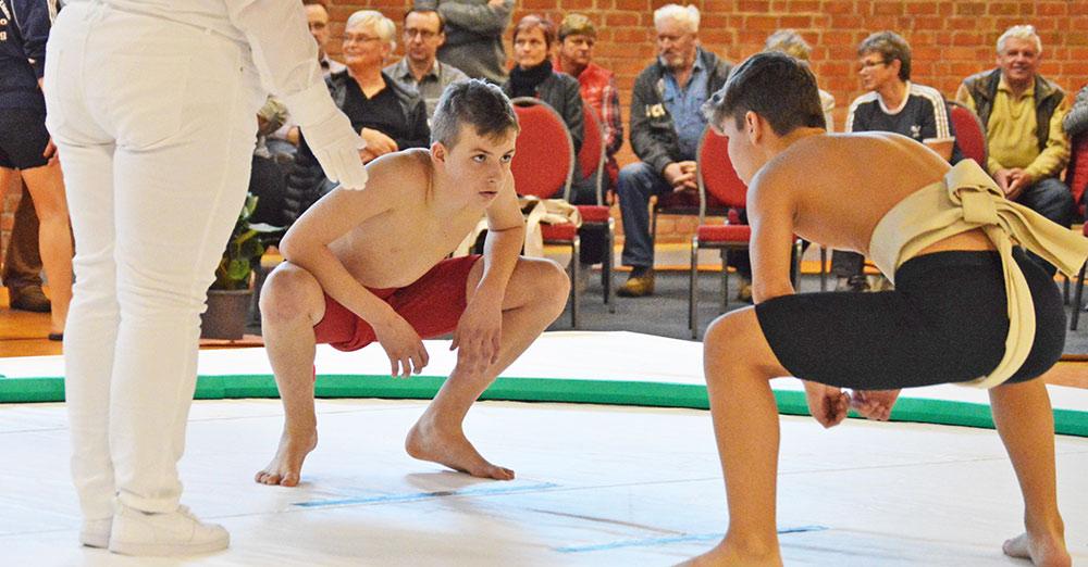 Unsere Kämpfer feiern riesige Erfolge auf der Sumo-Matte