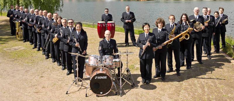 Landespolizeiorchester gastiert auf dem Schlosshof