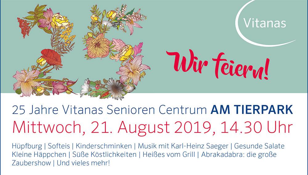 Hier wird gefeiert! 25 Jahre Vitanas Senioren Centrum Ueckermünde