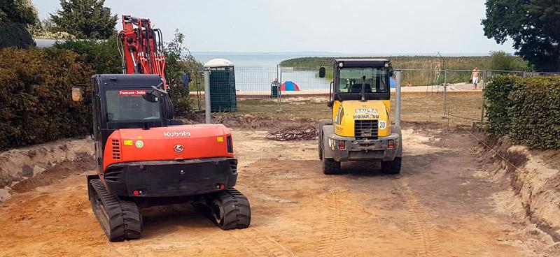 Spielplatz in Bellin wird erneuert