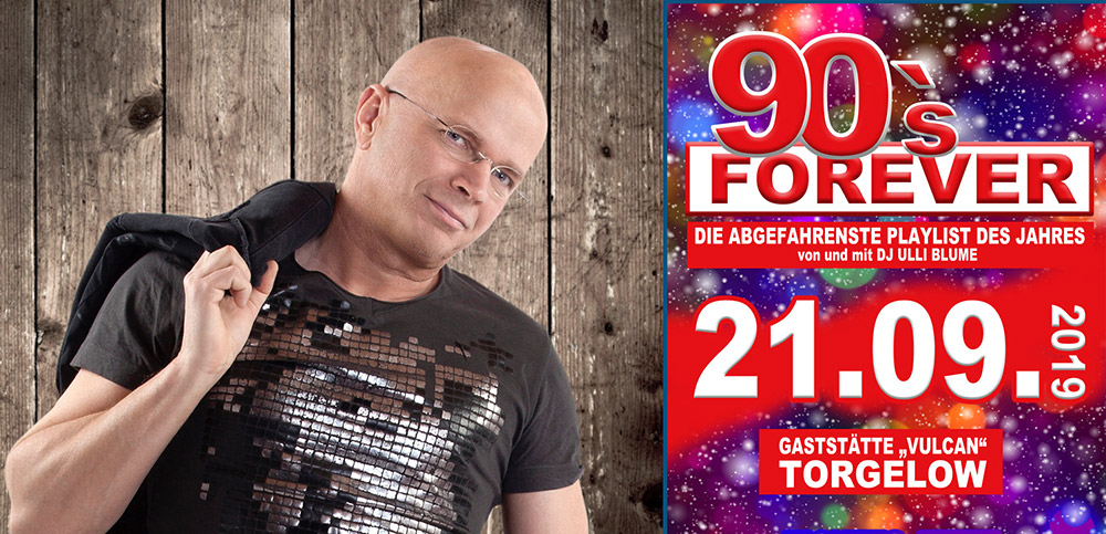 Back To The 90s mit DJ Ulli Blume