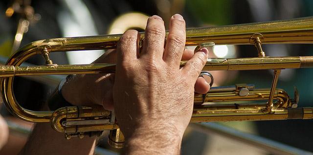 Konzert: Ueckermünder Brass-Band steigt aufs Dach