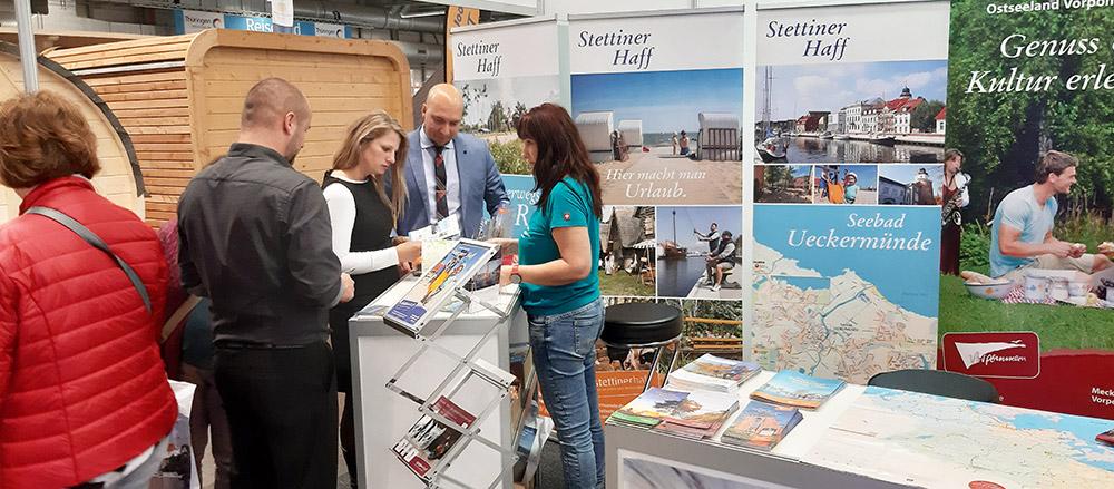 Unsere Region präsentiert sich auf der größten Reisemesse in Thüringen