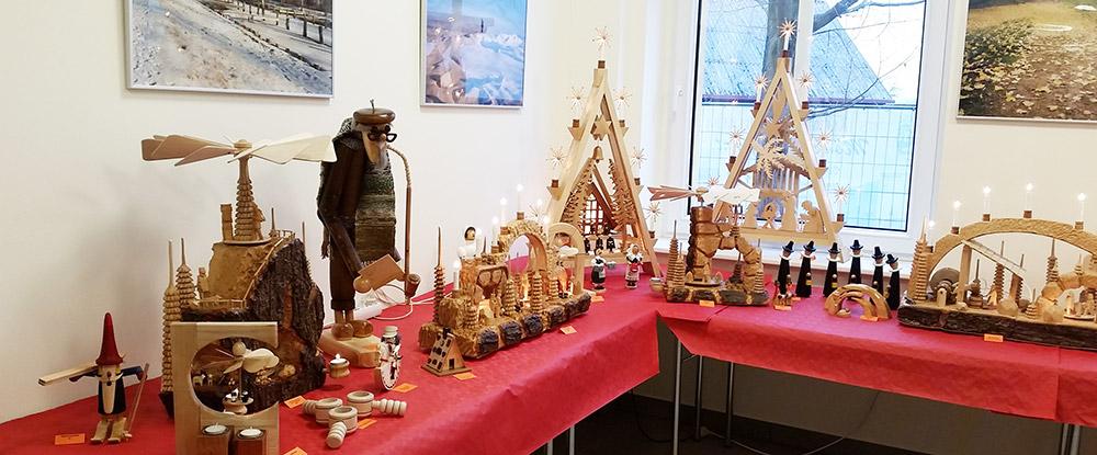 Weihnachtsausstellung mit Wintergeschichten in Mönkebude