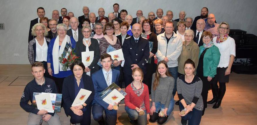 Ehrenamtspreis des Landkreises: Über 50 Aktive wurden ausgezeichnet