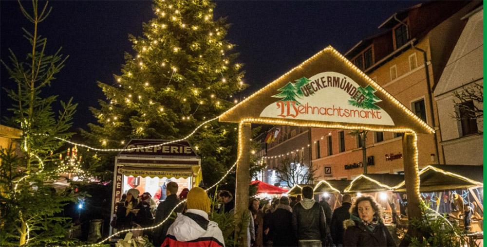 Ueckermünder Weihnachtsmarkt lockt mit viel Musik