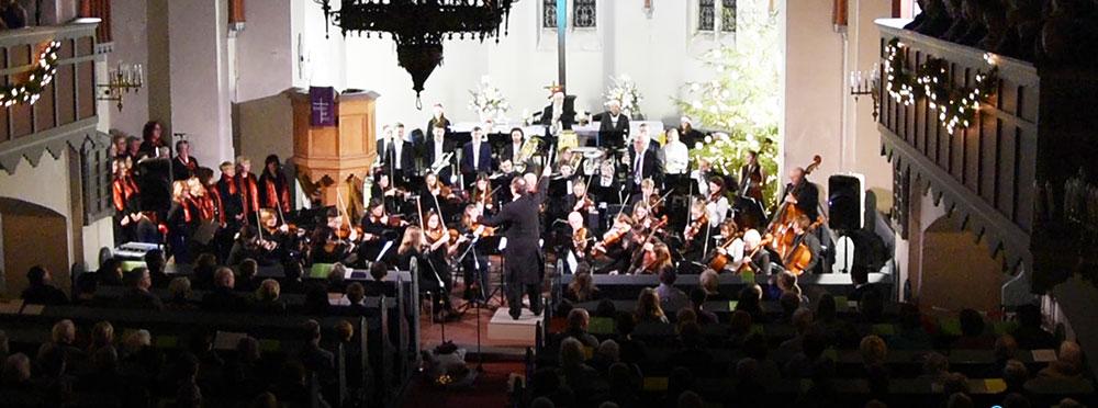 Zauberhafte Klänge für rund 900 Gäste in der Eggesiner Luther-Kirche