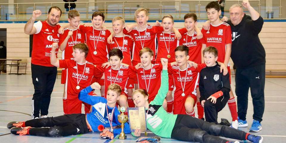 Ueckermünder Kickernachwuchs holt den Haffhus-Cup