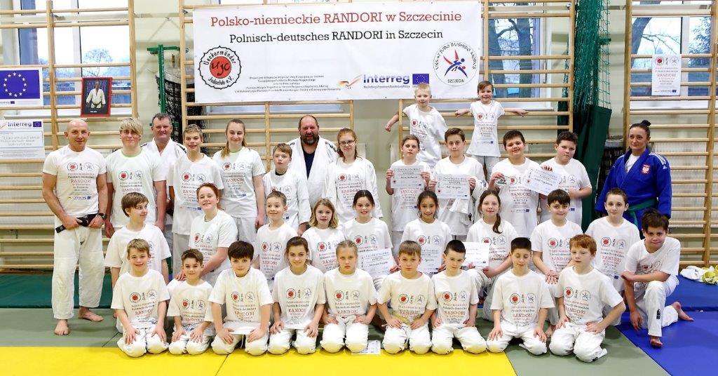 Ueckermünder Judoka trainieren mit polnischen Freunden in Stettin