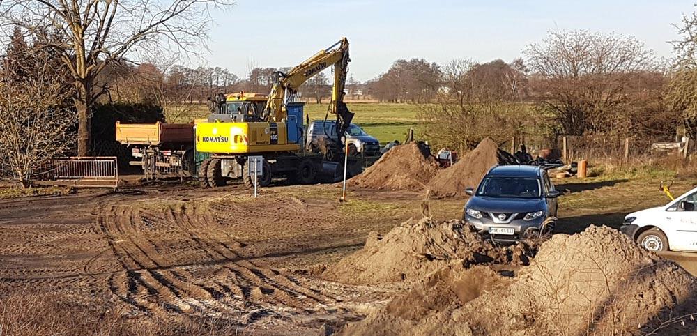 Bauarbeiten haben begonnen: Neuendorfer und Belliner Straße bald gesperrt