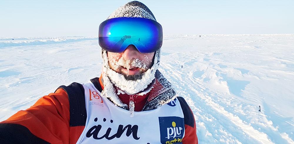 """Zu Fuß vom Nordpol Richtung Südpol: """"Meine Kilometer sind die Menschen, denen ich begegnen durfte."""""""