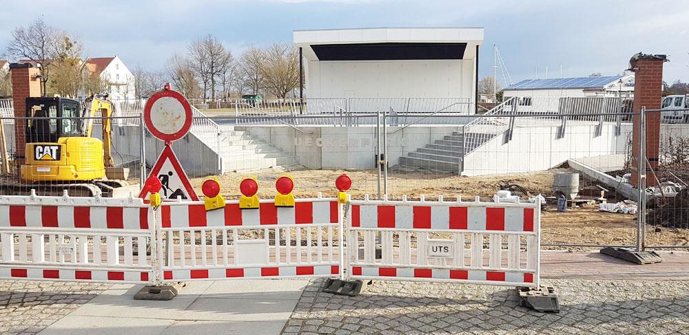 Ueckerpark ist fast fertig