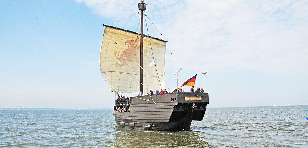 Ausfahrten der Pommernkogge: Wer will mitfahren?