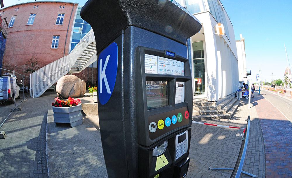 Kurscheinautomaten in Ueckermünde aufgestellt