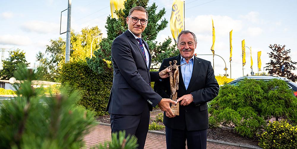 Auszeichnung für deutsch-polnischen Brückenbauer Dietrich Lehmann