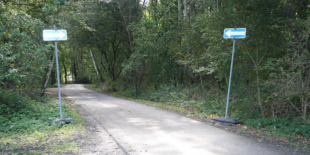 Änderung Straßenverlauf Heideweg Ueckermünde