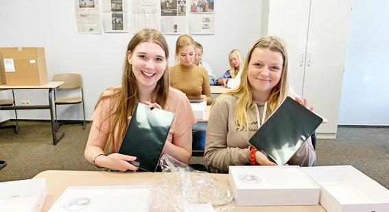 60 iPads für das Ueckermünder Gymnasium