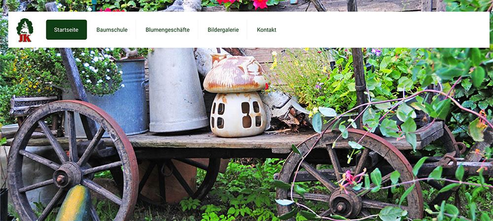 Der Gärtnermeister Kliewe geht online