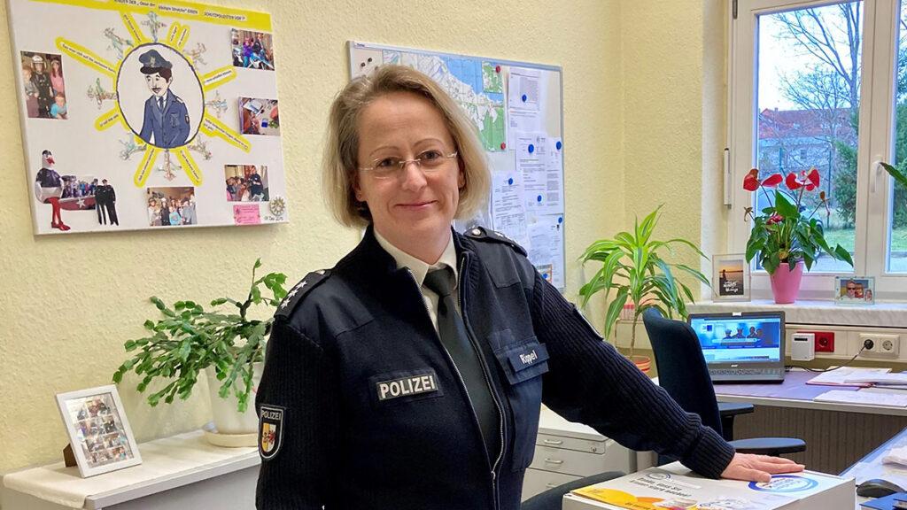 Neue Präventionsbeamtin in der Haff-Region