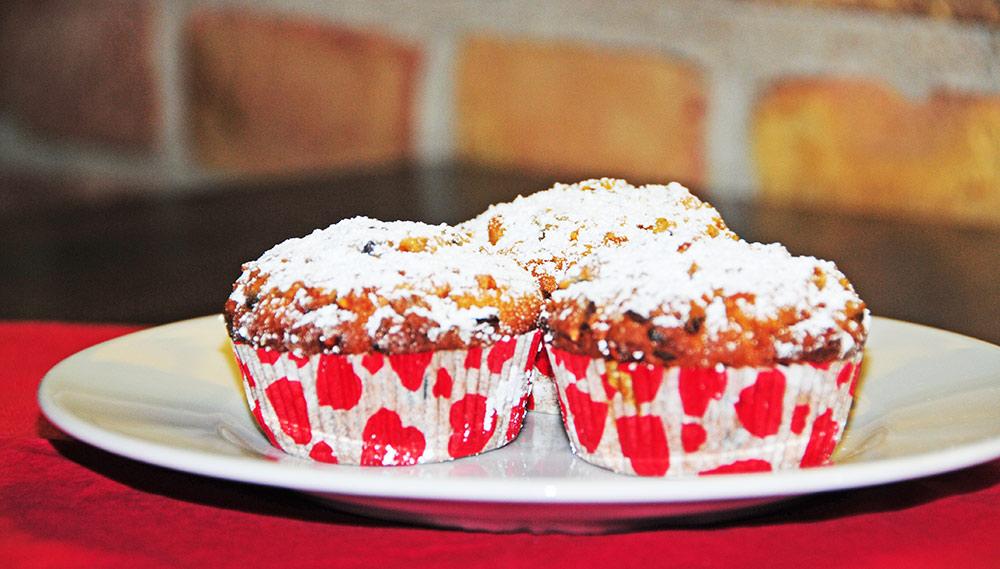 FUER UNS-Backfee empfiehlt zum Advent: Quarkstollen- Muffins