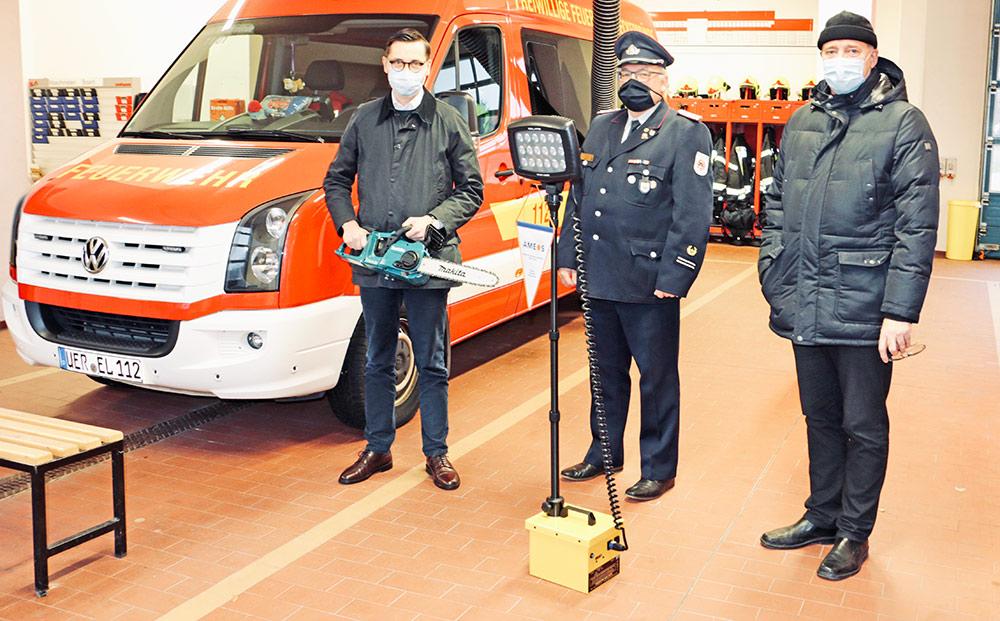 AMEOS Klinikum Ueckermünde unterstützt Feuerwehr im Seebad