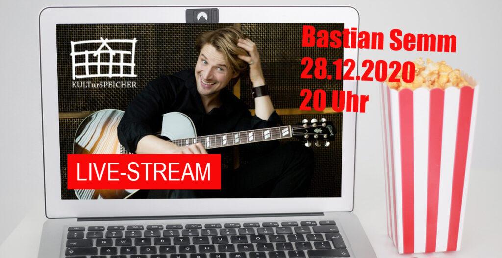 Bastian Semm gibt immer das letzte Konzert der Saison!