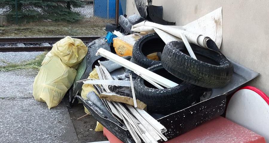 Illegale Müllentsorgung in Pasewalk