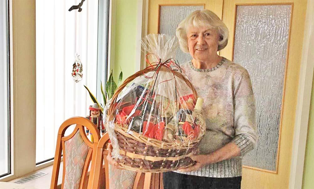 77-jährige Pasewalkerin freut sich über ersten Gewinn