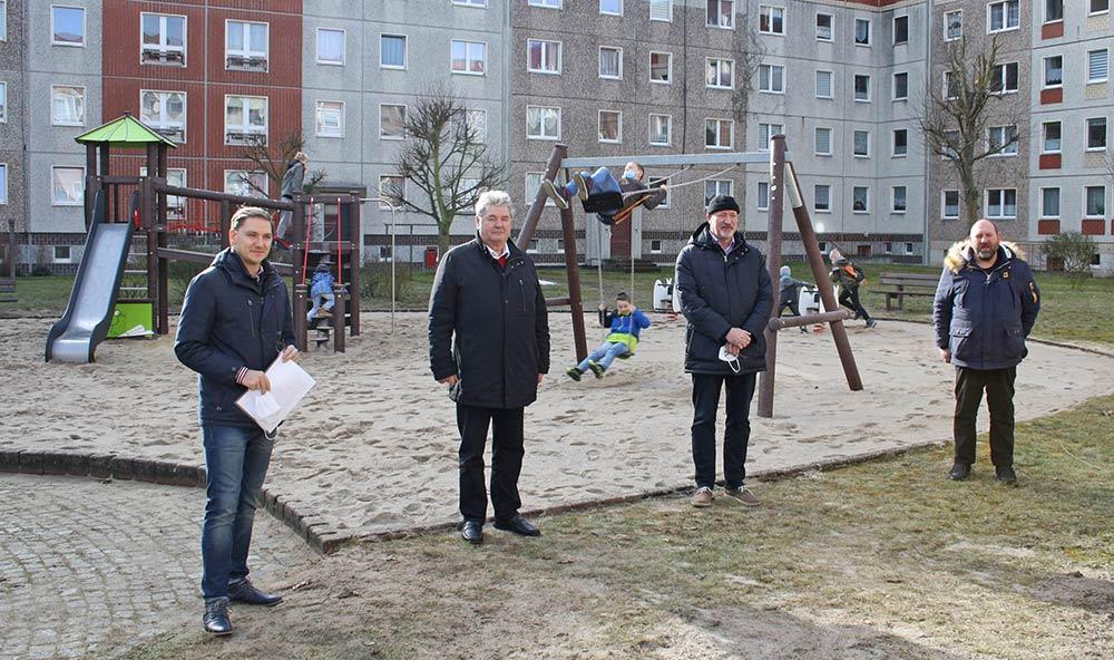 Neuer Spielplatz in Ueckermünde West