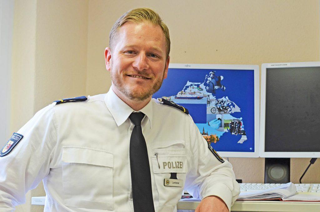 Ehemaliger Ueckermünder Bereitschaftspolizist wird Polizeichef in Stralsund
