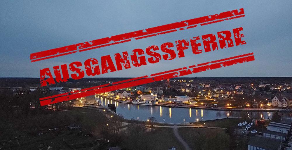 Vorpommern-Greifswald: Kreis verhängt Ausgangssperre und Einreiseverbot