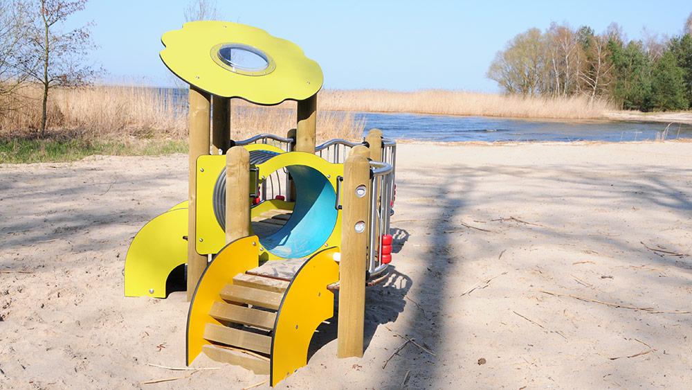 Bellini Beach mit neuem Spielgerät