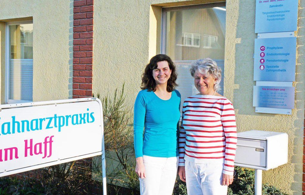 30 Jahre Zahnarztpraxis am Haff in zweiter Generation