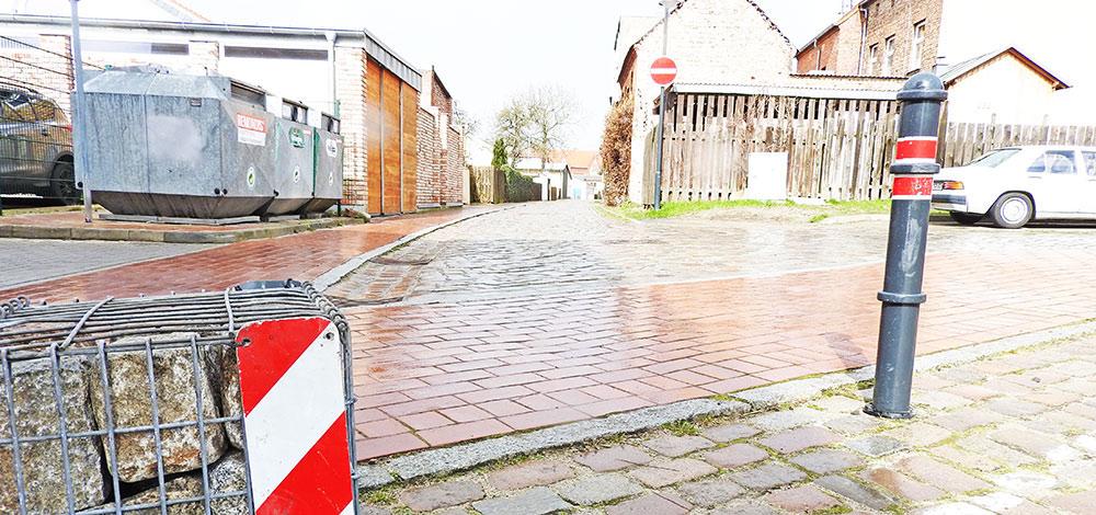 Ueckermünde: Gartenstraße voll gesperrt