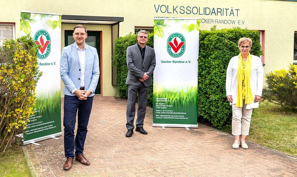 Schindler verstärkt Volkssolidarität