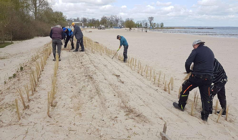 Ueckermünde: Strandfläche um 2500 Quadratmeter erweitert
