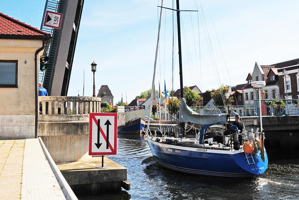 Arbeiten an Ueckermünder Klappbrücke können noch bis Mitte Oktober dauern