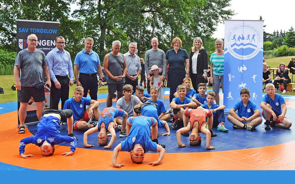 Ringer starten mit erstem Turnier in Torgelow