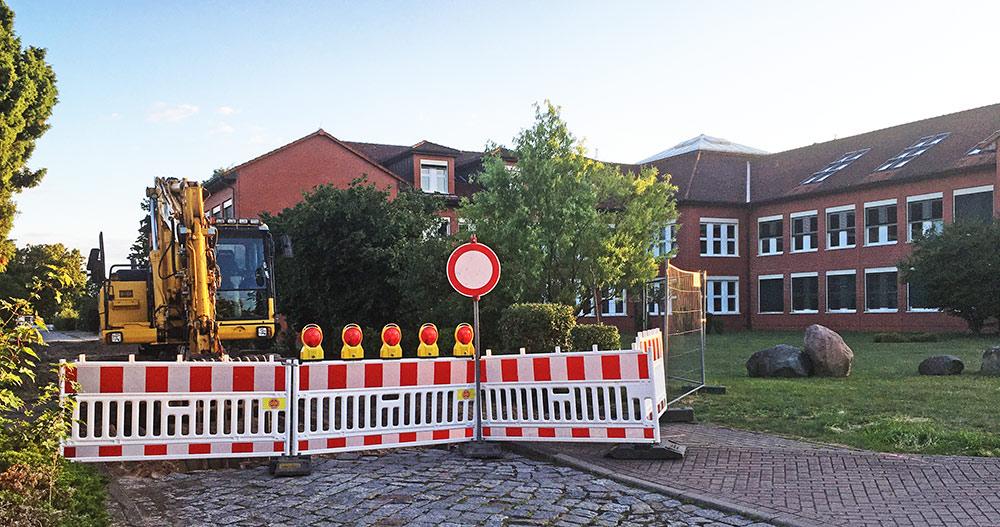 Achtung: Verkehrseinschränkungen am Gymnasium und an der Musikschule