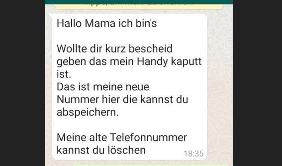 Achtung: Betrug jetzt auch per WhatsApp! Geschädigte verliert 5000 Euro