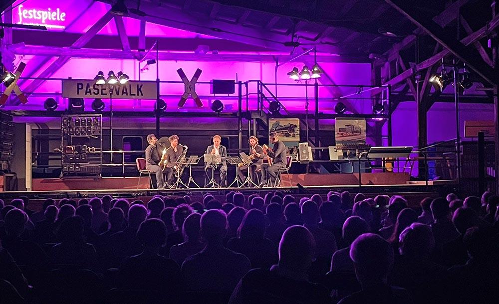 Lokschuppen wird zum Konzertsaal für Festspiele M-V